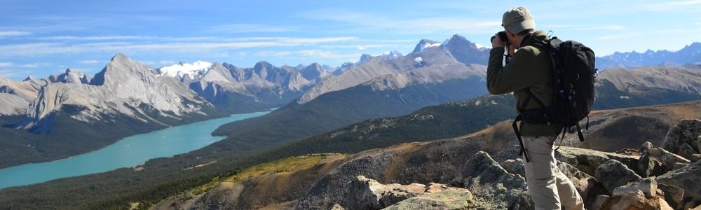 Maligne Lake View Jasper National Park